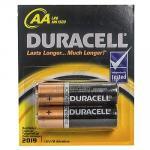 Батарейка AA   DURACELL в блистере   2 шт/уп