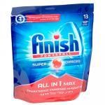 Таблетки универсальные   13 шт/уп для посудомоечных машин FINISH CALGONIT ALL IN 1 пакет   ''BENCKISER''   1/7