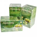 Чай зеленый пакетированный   25 шт в индивидуальной упак МАРОККАНСКИЙ   ''ALOKOZAY''   1/24
