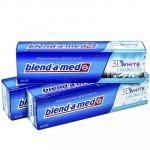 Зубная паста BLEND-A-MED   100мл 3D WHITE прохладная свежесть   ''P&G''   1/6/24