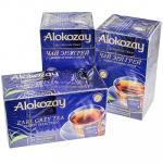 Чай черный пакетированный   25 шт в индивидуальной упак EARL GREY с ароматом бергамота   ''ALOKOZAY''   1/24
