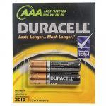Батарейка AAA   DURACELL в блистере   2 шт/уп