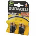 Батарейка AAA   DURACELL в блистере   4 шт/уп