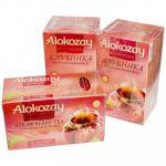 Чай черный пакетированный   25 шт в индивидуальной упак КЛУБНИКА   ''ALOKOZAY''   1/24