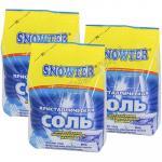 Соль   1.5кг для посудомоечных машин SNOWTER пакет   ''АЦНТ''   1/4