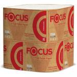 Бумага туалетная листовая   2-сл 250 лист/уп ДхШ 250х110 мм V-сложения FOCUS PREMIUM БЕЛАЯ   ''HAYAT''   1/30