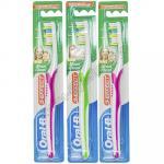 Зубная щетка ORAL-B   1 шт/уп 3-EFFECT MAXI CLEAN средняя жесткость   1/12/96
