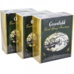 """Чай черный пакетированный   100 шт в индивидуальной упак EARL GREY FANTASY""""   ''GREENFIELD''   1/9"""