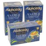 Чай травяной пакетированный   25 шт в индивидуальной упак ЧАБРЕЦ   ''ALOKOZAY''   1/24