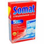 Соль   1,5кг для посудомоечных машин  SOMAT   ''HENKEL''   1/7