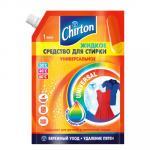 Средство для стирки жидкое   1л для любых видов тканей CHIRTON Doy-Pack   ''GD''   1/6