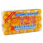 Мыло хозяйственное   150г 72% в упаковке СВЕТЛОЕ   ''АИСТ''   1/60