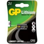 Батарейка CR2   1 шт/уп GP LITHIUM в блистере   ''GP''   1/10