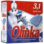 Таблетки универсальные   16 шт/уп для посудомоечных машин OLINKA 3 в 1   ''АКВАЛОН''   1/16